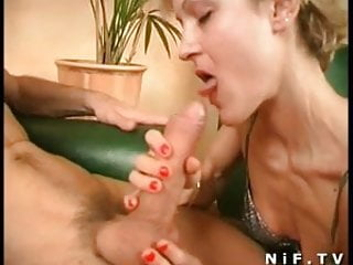 Huge dick in her ass submit - French slut gets a huge dick in her ass