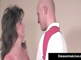 May i cum master video Mother may i deauxma rides one of her first cocks on film