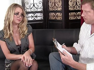 Milf can t pay her bill - Cute amateur blonde will do anything to pay her bills