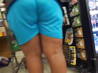 Asian wedgie Juicy blue shorts wedgie vplquick 2 in 1
