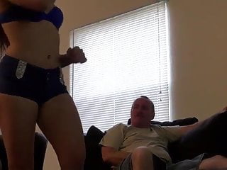Girl fucks older guy - Young girl fucks with older guy