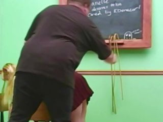 Free clips of adult spankings Adult schoolgirl caned spanked in uniform