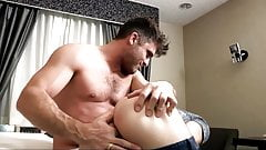 Step-son gets spanked and barebacked