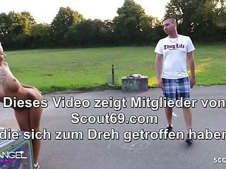 Marcys playground sex - No condom sex on public playground with skinny german teen