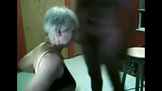 Mature slut Sue gangbanged