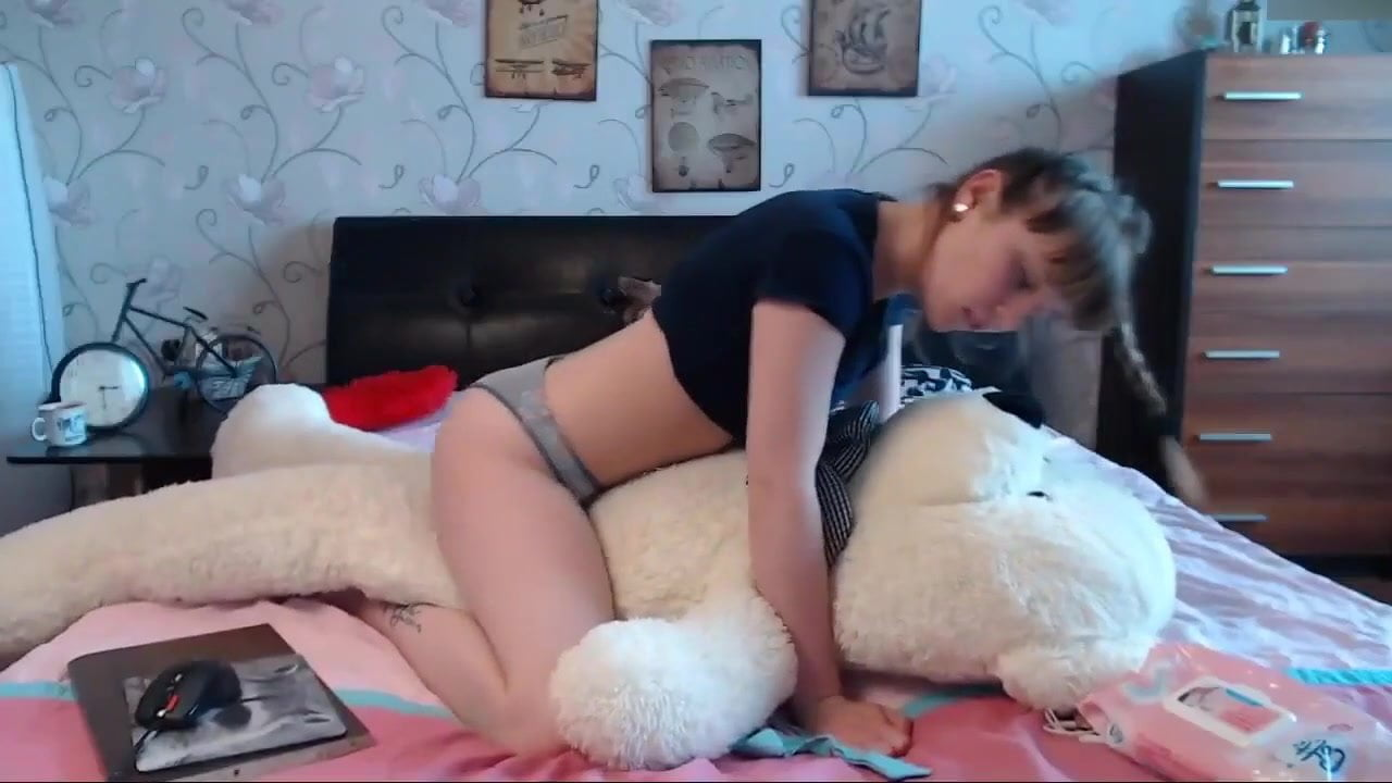 Girl Having Sex Teddy Bear