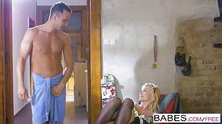Babes - Step Mom Lessons - Fair Maiden  starring  Kai Taylor