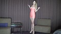 Tall financial mistress