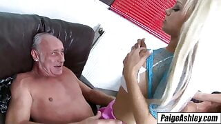 Paige Ashley, hot wife brings pussy home for husband