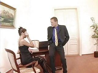 Hot secretary fucking - Hot kinky secretary fucking her boss