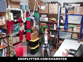 Red headed chick nude - Shoplyfter - red headed slut offers pussy for stealing