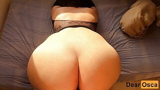 I FUCKED MY HORNY THICK ASS GIRLFRIEND'S STEPMOM IN HER ROOM