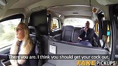Ben Kelly blows fake taxi driver Sasha Steele like a pro