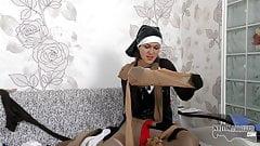 Grace Moon prays for more pantyhose perversion