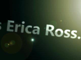 Fuck har at Erica ross harness ballgag blindfolded and fucked