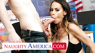 Naughty America - McKenzie Lee fucks her student