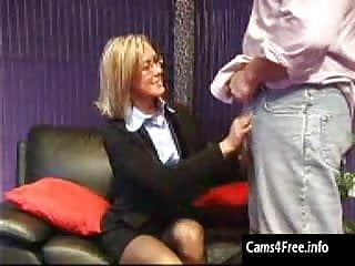 Tv sexy - Incredibly sexy milf blowjob on amateur webcam tv show