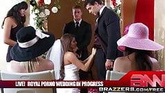 Madelyn Marie Ramon - The Royal Porno Wedding - Brazzers