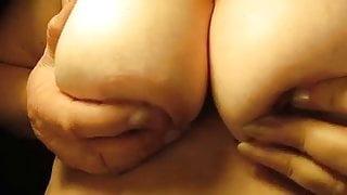 Close up nipples and tits