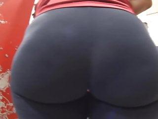 Plump ass blog - Candid plump ass in spandex