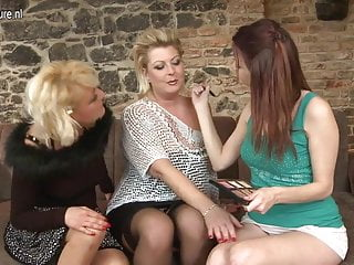 Mothers fucking daughters - Mother and mother fuck not their daughter