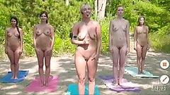 Gostosas na praia de nudismo
