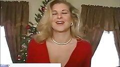 OralAmber red cardigan blowjob