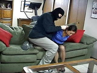 Bondage housewife in Some asian housewife captured by burglar