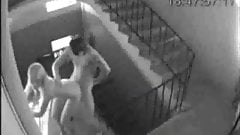 Staircase Sex Caught Security Cam Free Sex Pics
