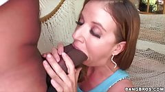Extra fat cock pounds Kaylynn Kage's pussy