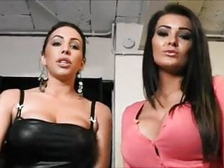 Huge shiny ass Sexy brunettes n c tease with shiny behinds