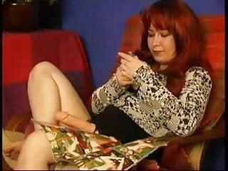 Entertainment sex Redhead mature entertain a blonde