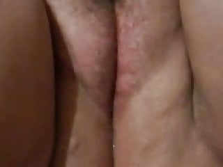 Cum oozing creampie - Creampie cum oozing out of girlfriends pussy