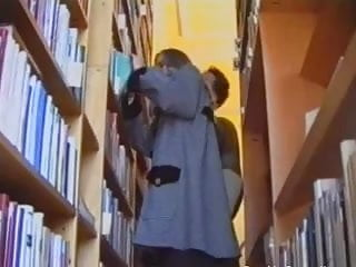 Sex video library - Cute daughter at the library