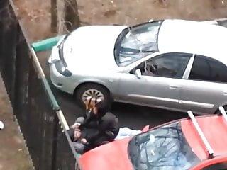 Russian voyeur sex outdoors Love games homeless 6