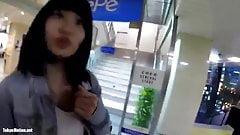 Japanese woman voyeur upside down shooting5