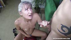 Бабушка в секс-игрушке
