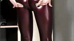 Leather legging girls #6