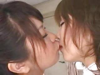 Japanese milf ffm Bt japs in schoolgirl jumpers ffm covered in lotion part 1