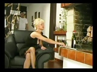 Hairy blond stud - Hairy blonde mature fucked by young stud