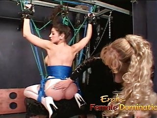 Teen tied up by cruel mistress Delicious brunette bombshell simply loves being tied-up and
