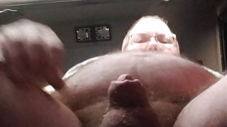 Just horny in truck