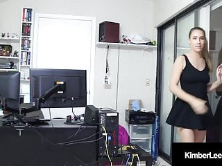 Cock lock block Blowjob babe kimber lee locks the door sucks your cock