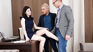 DPFanatics Anal Threesome With My Two Coworkers
