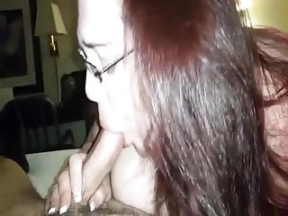 Exotic porn convention - Coworker sucks my cock at hotel convention