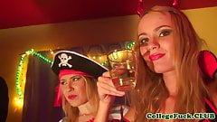 Costume euro teen pussyfucked at costumeparty