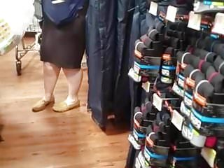 Wal-mart gay Pawg wal-mart granny associate got some ass