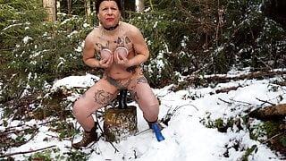 Slut Petra has Winter Fun 2021