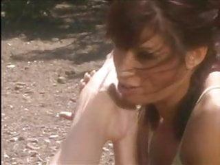 Lesbian vid clips - Outdoors in the sun, lesbian vid