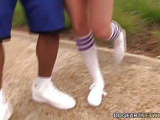 Brian pumper sex tape - Interracial foot fetish sex with casey calvert